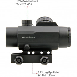 Calypos 1x30SFP Prism Scope Riflescope