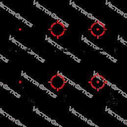 34mm X-Accu Medium Profile Picatinny Rings