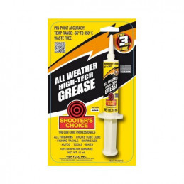 Shooter Choice All Weather High-Tech Gun Grease 10cc Syringe