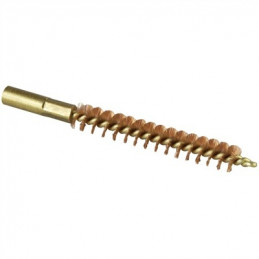 "Brownells Dewey thread ""Special Line"" Bronze brush for rifles .264/ 6.5mm"