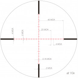 "March Riflescope March-X ""High Master"" 10x-60x56mm Illumination"