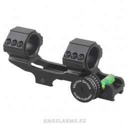 30mm One Piece Angle Indicator Bubble Level Cant