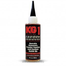 KG-1 Carbon remover 4 fl.oz. / 118 ml Quickly removes powder fouling and carbon build-up